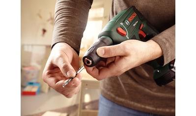 Bosch Powertools Akku-Bohrhammer »Uneo Maxx + SystemBox«, mit 2 Akkus und Ladegerät kaufen