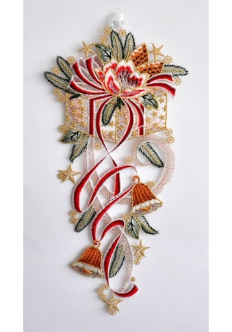 Stickereien Plauen Fensterbild »Geschenkezopf« kaufen
