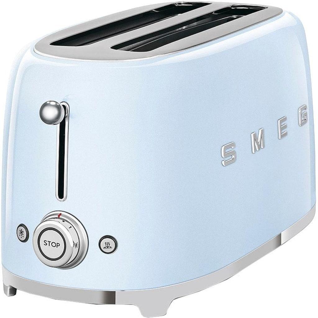 Smeg Toaster »TSF02PBEU«, 2 lange Schlitze, für 2 Scheiben, 1500 W