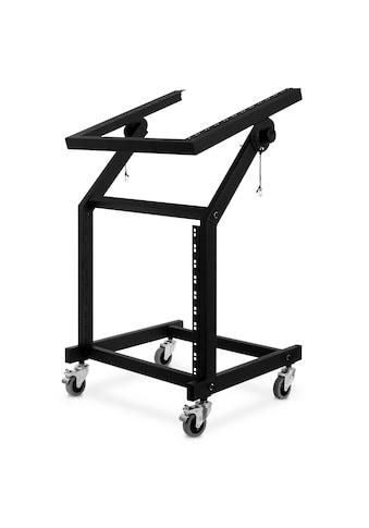 Auna Rack Stand 48cm (19'') 21 Höheneinheiten Rollen neigbar mobil »901MIX« kaufen