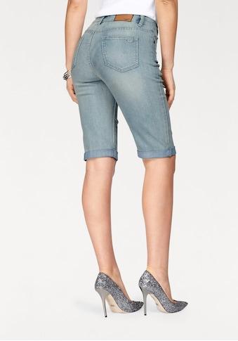 Arizona Jeansbermudas, High Waist kaufen