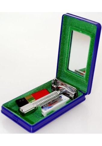 Maximex Rasierhobel »92588«, aus verchromtem Messing mit Edelstahl-Rasierklingen kaufen