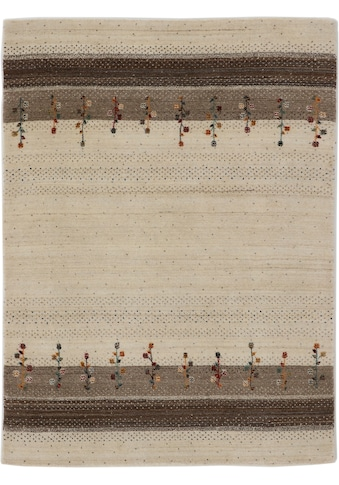 carpetfine Wollteppich »Gabbeh Loom Lori«, rechteckig, 15 mm Höhe, reine Wolle, sehr weicher Flor, Wohnzimmer kaufen