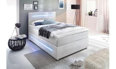 meise.möbel Boxspringbett, mit LED Beleuchtung, wahlweise mit Bettkasten kaufen
