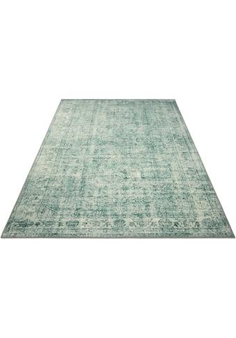my home Teppich »Samira«, rechteckig, 6 mm Höhe, Orient-Vintage-Optik, Wohnzimmer kaufen