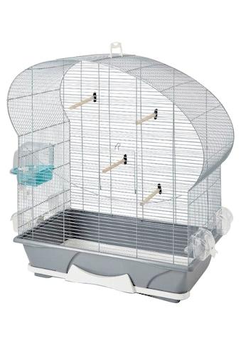HEIM Vogelkäfig »Ellipse 50«, BxLxH: 70x38x142 cm, inkl. Zubehör und Ständer kaufen