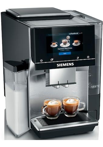 SIEMENS Kaffeevollautomat »EQ.700 integral - TQ707D03«, intuitives Full-Touch-Display,... kaufen