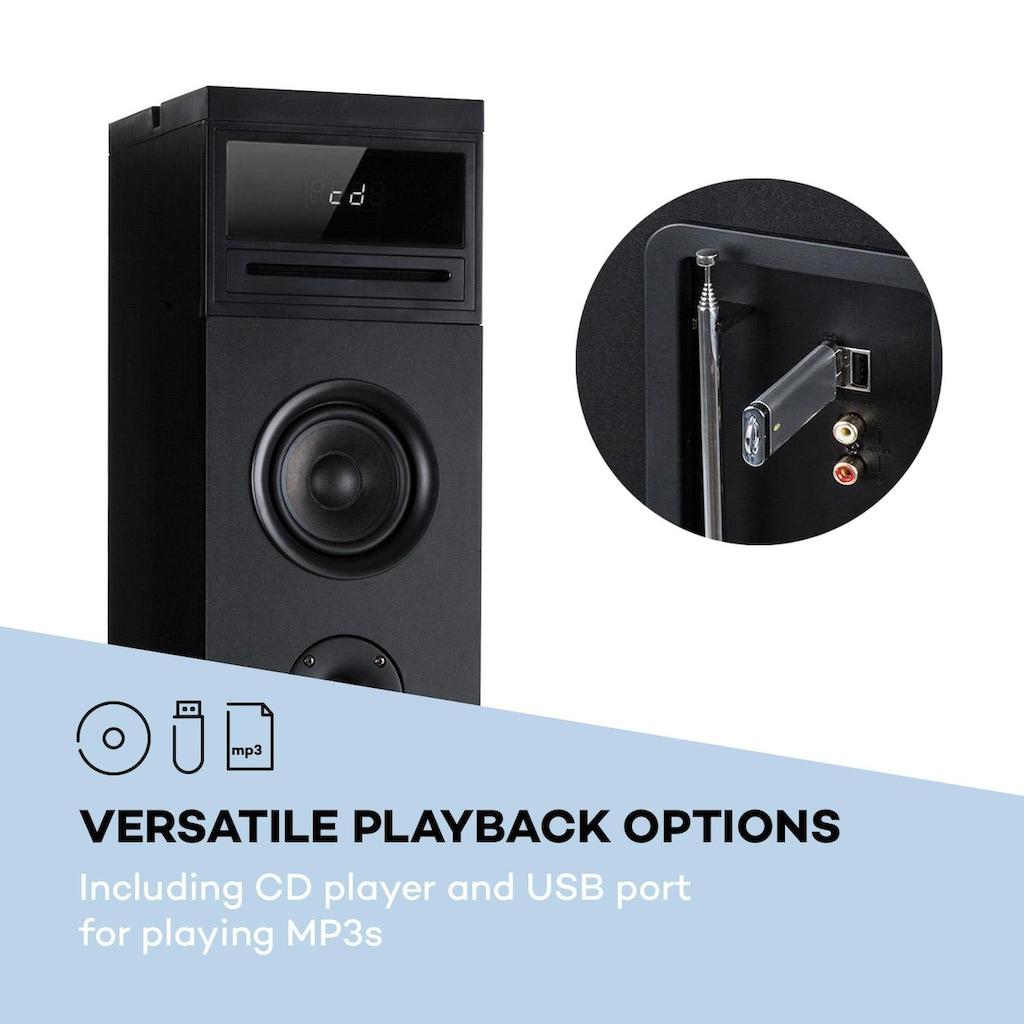 Auna Karaoketurm 120W max. CD-Player 2 Mikrofo