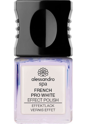 "alessandro international Nagellack ""Spa Pro White French"" kaufen"