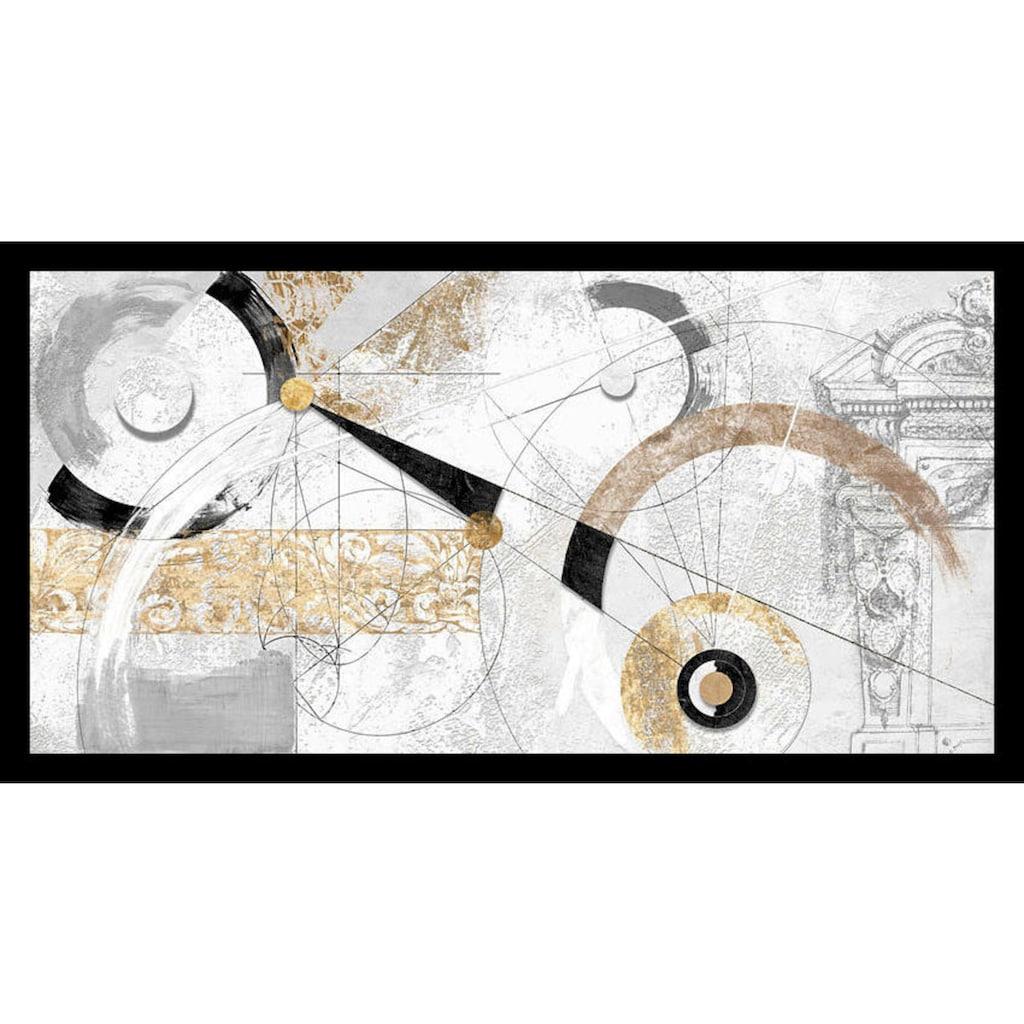 my home Bild mit Rahmen »ARTURO ARMENTI / Nero e Oro«, (1 St.)