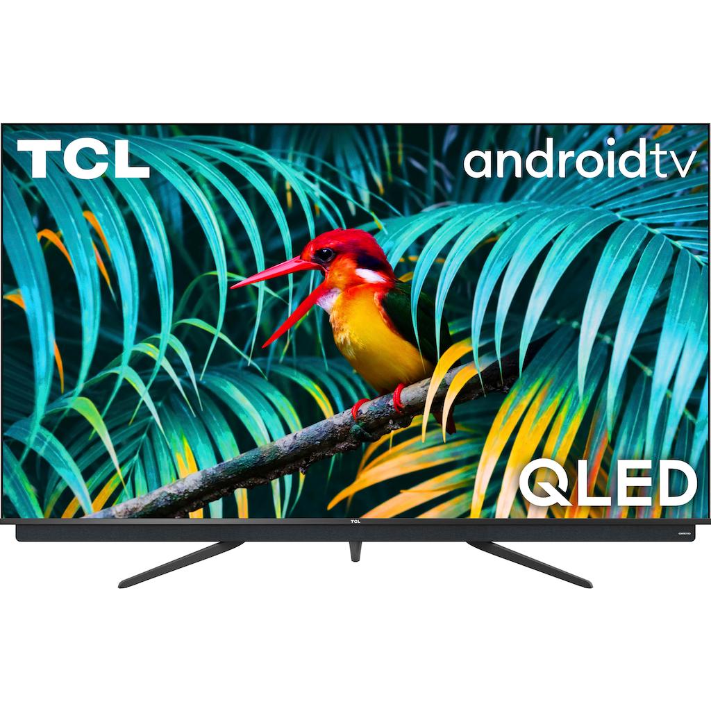 "TCL QLED-Fernseher »65C815X1«, 164 cm/65 "", 4K Ultra HD, Smart-TV, integrierter ONKYO Soundbar-Android TV Sprachfernbedienung"