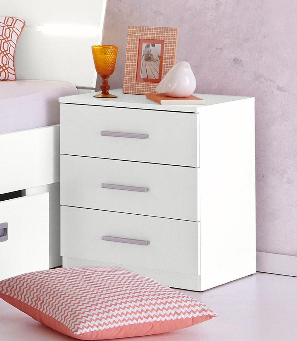 Nachttisch   Schlafzimmer > Nachttische   Weiß   QUELLE