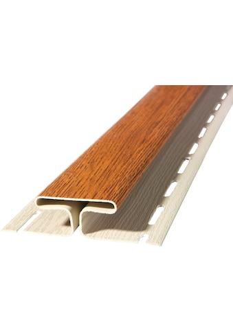 BAUKULIT Set: Verbindungsprofile »SOFFIT Golden Oak«, für Dachüberstand, 2er Set, je 1,525 m kaufen