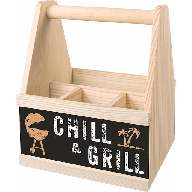 """Contento Besteckträger """"Chill & Grill"""""""