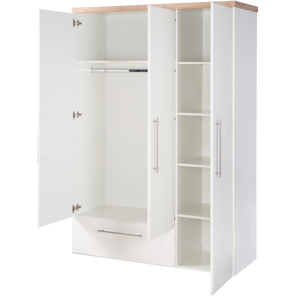 roba® Babyzimmer-Komplettset »Nele«, (Set, 3 St.), Made in Europe; mit Kinderbett, Schrank und Wickelkommode