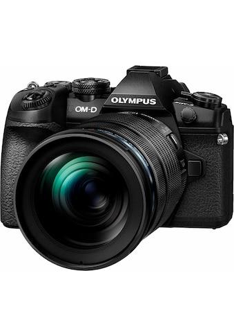 Olympus Systemkamera »OM-D  E-M1 Mark II«, M.ZUIKO DIGITAL ED 12-100 1:4.0 IS PRO,... kaufen