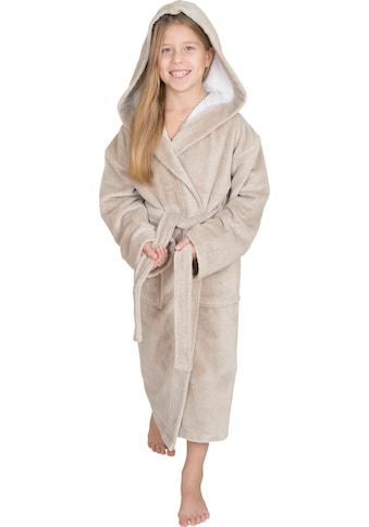 Wewo fashion Kinderbademantel »8521«, mit Soft Touch kaufen