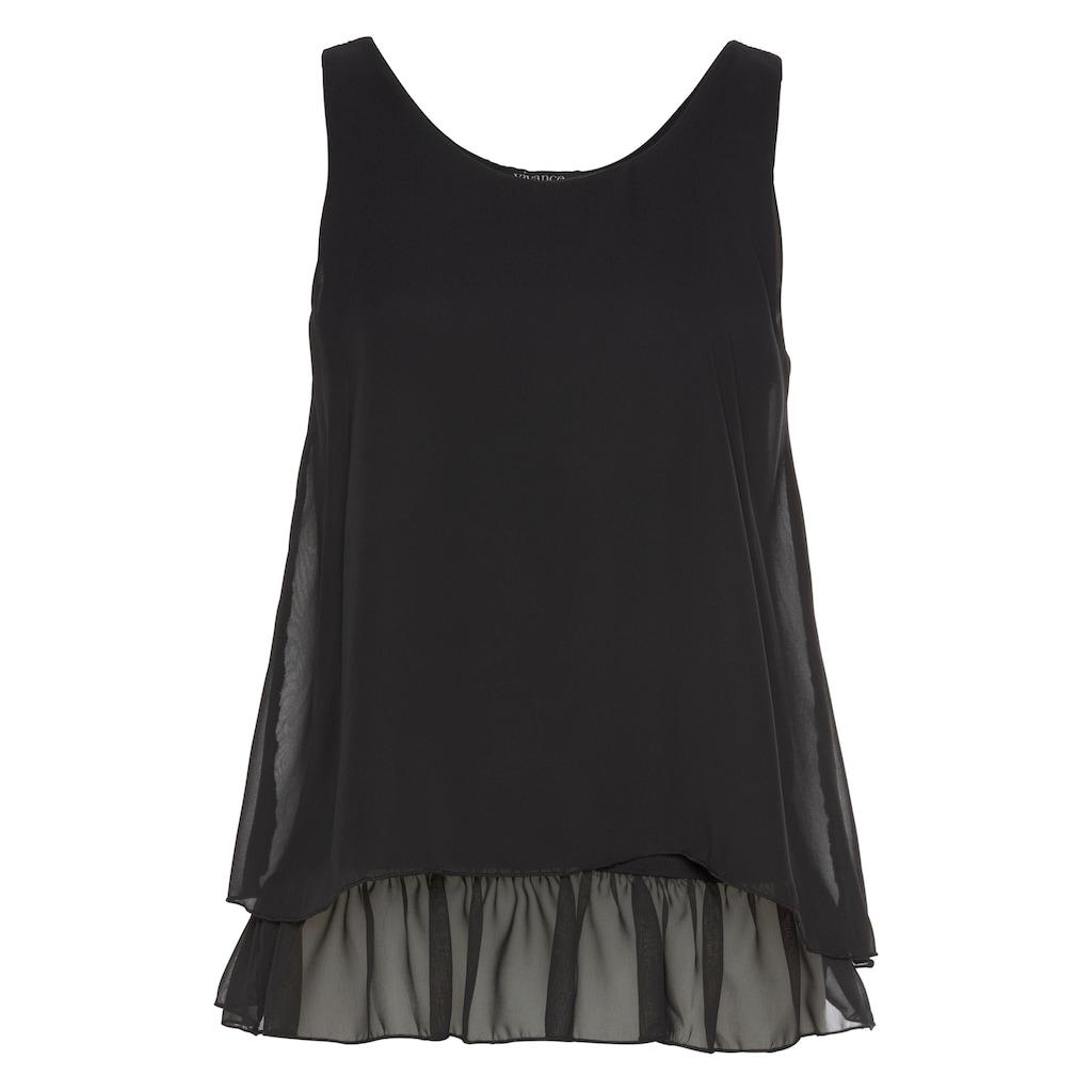 Aniston SELECTED Blusentop, im modischen Lagen-Look