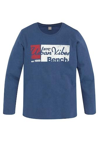 Bench. Langarmshirt »URBAN VIBES« kaufen
