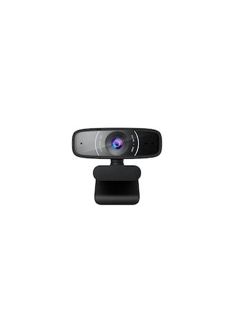 Asus Webcam »1080p-Auflösung, 30 FPS, Beamforming-Mikrofon«, Full HD, Webcam C3 Full HD USB-Kamera kaufen