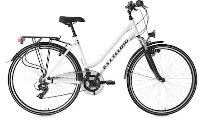 KS Cycling Trekkingrad »Metropolis«, 21 Gang Shimano Tourney Schaltwerk, Kettenschaltung kaufen