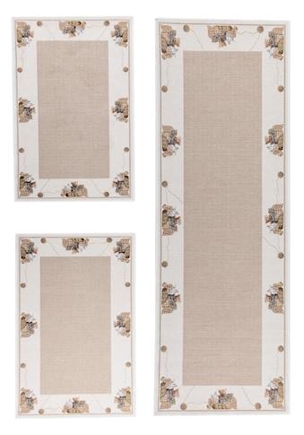THEKO Bettumrandung »Flomi Kitten«, Bettvorleger, Läufer-Set für das Schlafzimmer, gewebt, mit Bordüre und niedlichem Katzen Motiv kaufen