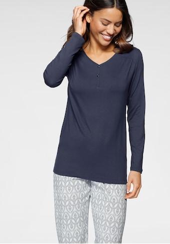 Cybèle Pyjama, (2 tlg.), mit gerafften Details kaufen