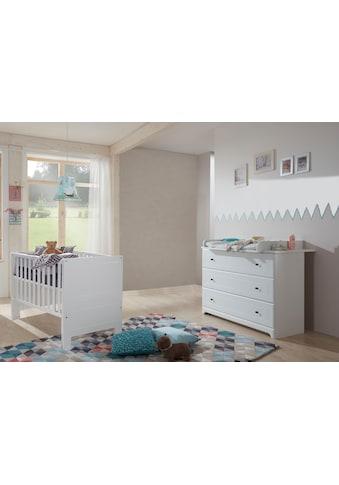 arthur berndt Babymöbel-Set »Thilo«, (Spar-Set, 2 St.), mit Kinderbett und... kaufen