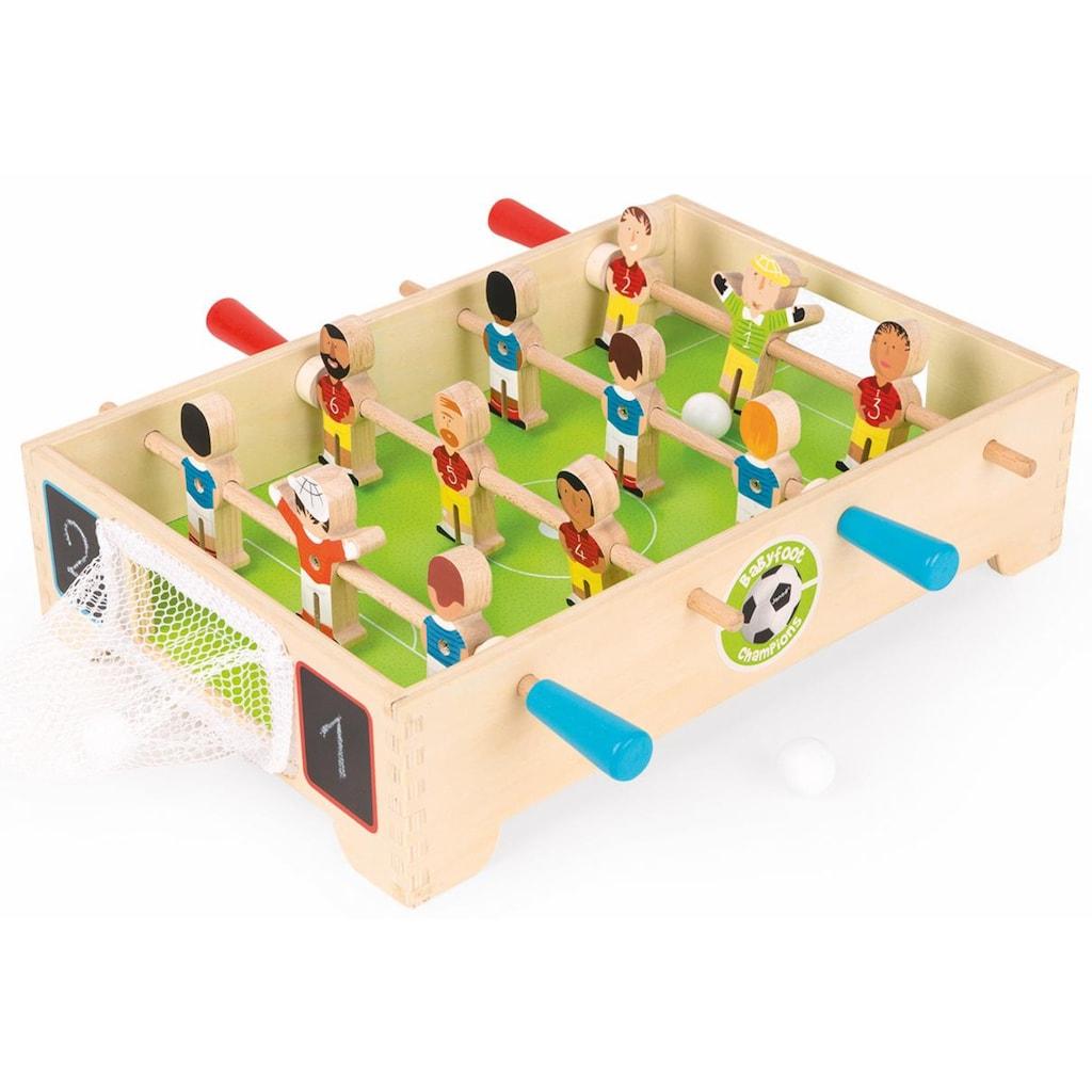 Janod Tischfußballspiel »Champions«, FSC®-Holz aus gewissenhaft bewirtschafteten Wäldern