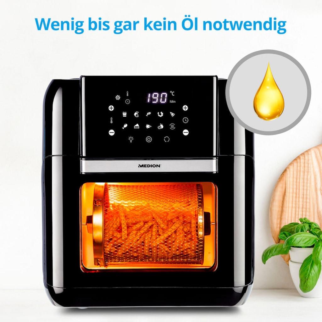 Medion® Heissluftfritteuse »MD 10072«, 1500 W