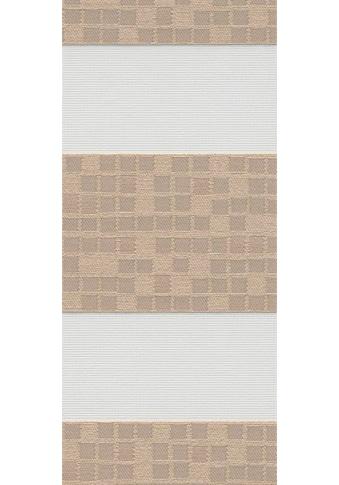 sunlines Doppelrollo nach Maß »Premium Style Bricks«, blickdicht, freihängend kaufen