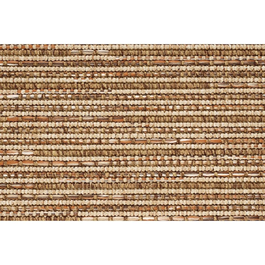 Dekowe Läufer »Naturino Effekt«, rechteckig, 8 mm Höhe, Teppich-Läufer, Flachgewebe, Sisal-Optik, mit Bordüre, In- und Outdoor geeignet, Flur