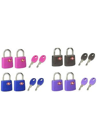 Master Lock Vorhängeschloss »TSA«, (Set, 2 tlg.), TSA Gepäckschloss, 23 mm, 2er Pack kaufen