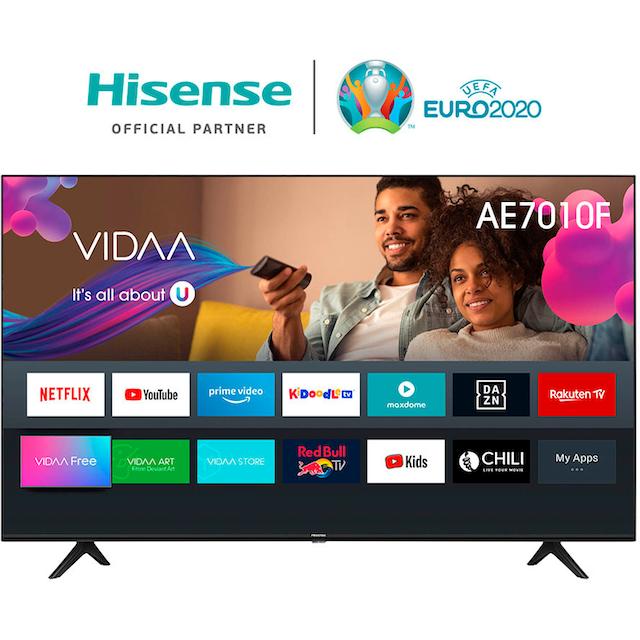 Hisense 55AE7010F LED-Fernseher (139 cm / (55 Zoll), 4K Ultra HD, Smart-TV