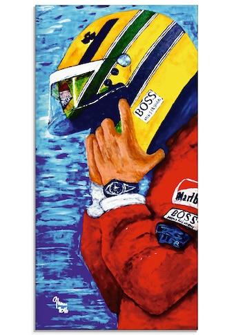 Artland Glasbild »Ayrton Senna  -  Jahre bei McLaren« kaufen