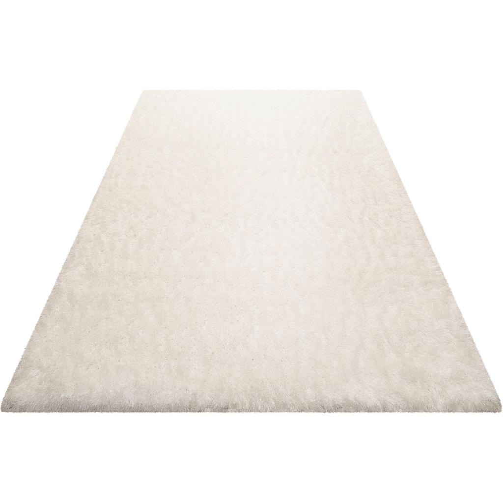 Wecon home Basics Hochflor-Teppich »Bella«, rund, 70 mm Höhe, besonders weich durch Microfaser