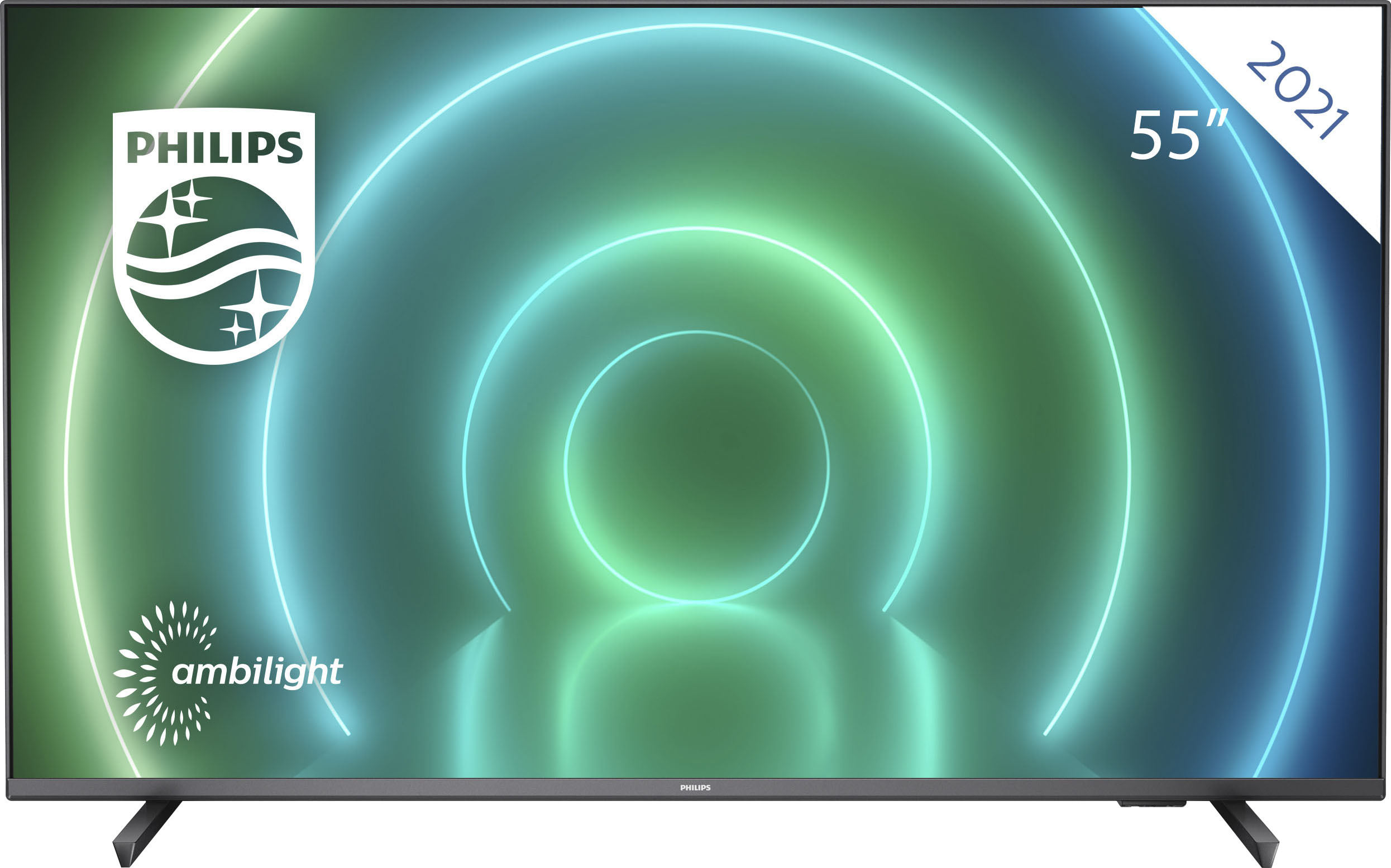 Philips LED-Fernseher 55PUS7906 12 , 139 cm 55 , 4K Ultra HD, Android TV-Smart-TV
