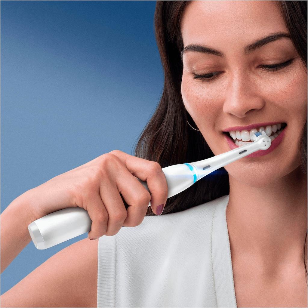 Oral B Elektrische Zahnbürste »iO Series7N mit 2. Handstück«, 1 St. Aufsteckbürsten, Magnet-Technologie