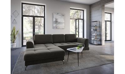 sit&more Ecksofa »Bendigo V«, inklusive Sitztiefenverstellung, Bodenfreiheit 12 cm,... kaufen