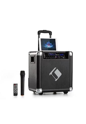 """Auna PA-Anlage 8"""" Woofer 35 / 100 Wmax. VHF-Mikro USB SD BT AUX mobil kaufen"""