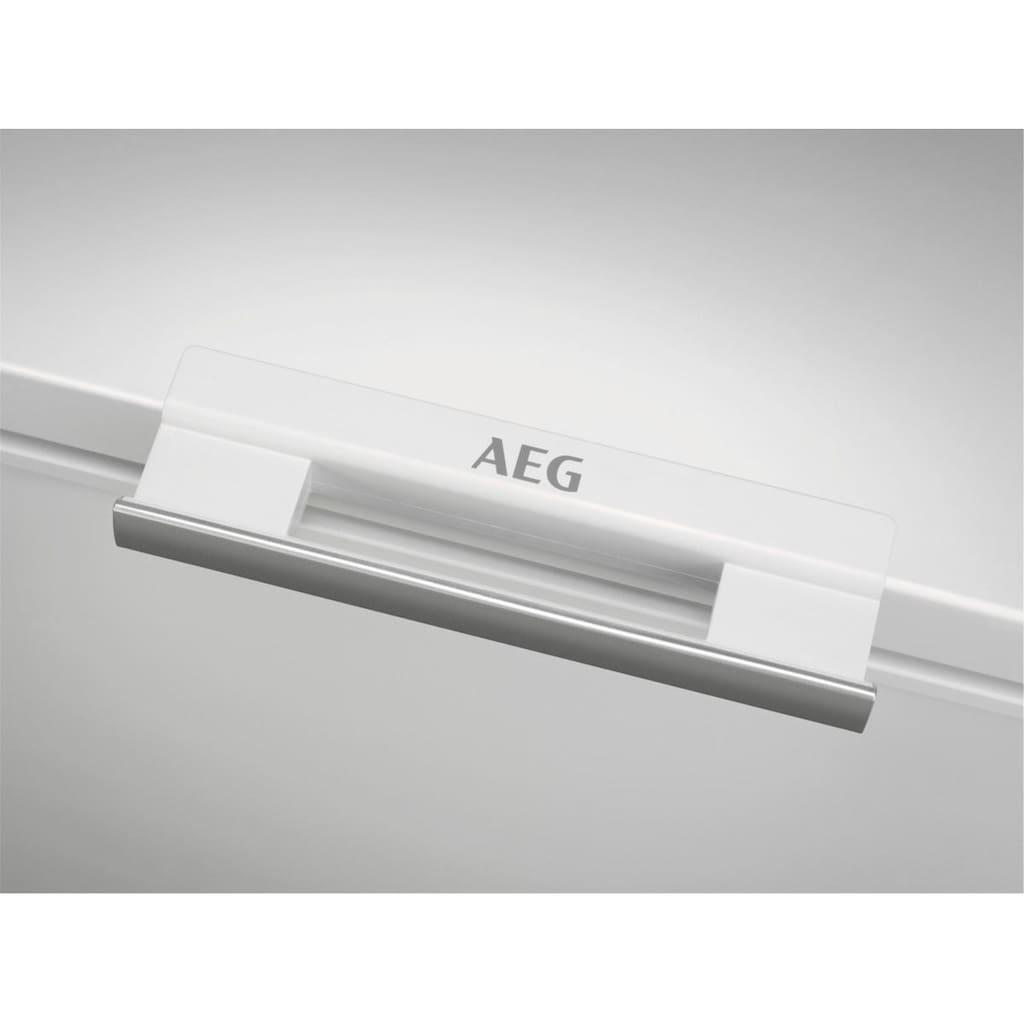 AEG Gefriertruhe »AHB531D1LW«, 84,5 cm hoch, 112 cm breit