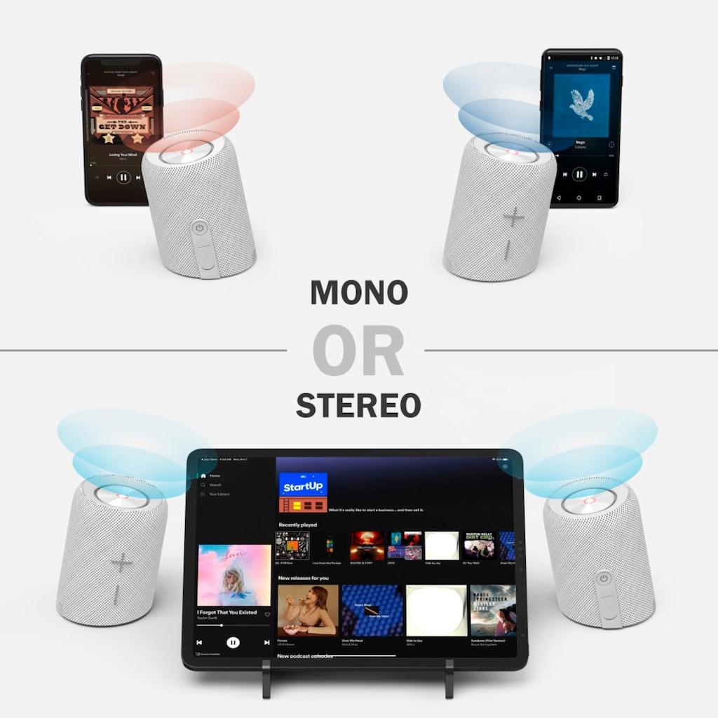 Hama Bluetooth-Lautsprecher »Outdoor-Lautsprecher 2in1«, kabellos, wasserdicht IPX7