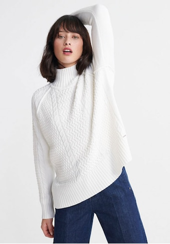 Superdry Strickpullover »PHEOBE CABLE LIGHTWEIGHT KNIT« kaufen