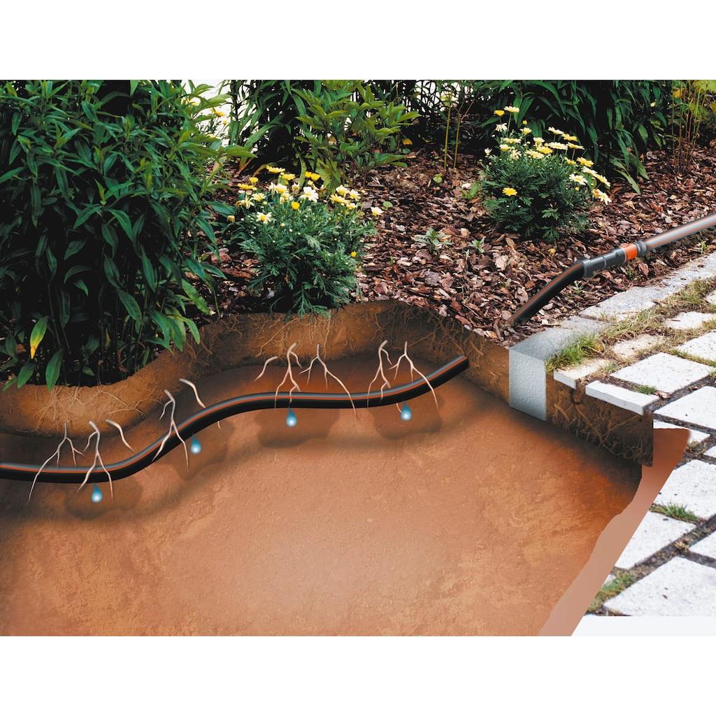 GARDENA Bewässerungssystem »Micro-Drip-System Tropfrohr, 1395-20«, unterirdisch 13,7 mm, 1,6 l/h, 50 Meter, Erweiterungsset für Art.-Nr. 1389