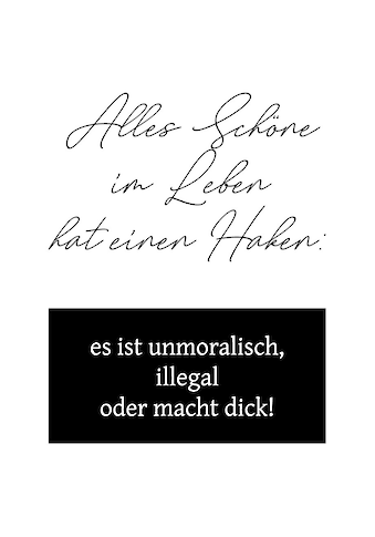 queence Wanddekoobjekt »Schriftzug« kaufen