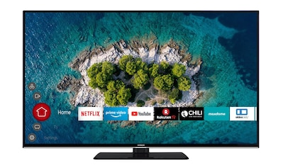 Hitachi LED - Fernseher (55 Zoll, 4K Ultra HD, Smart TV, Triple Tuner) »U55K6000« kaufen