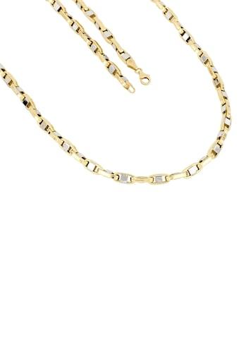 Firetti Goldkette »In Stegankerkettengliederung, 4,3 mm breit, Glanz, teilw. rhodiniert, bicolor« kaufen