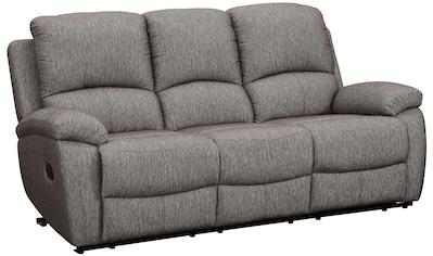 Home affaire 3-Sitzer »Marina«, mit 1 Relaxfunktion und Federkern-Polsterung kaufen