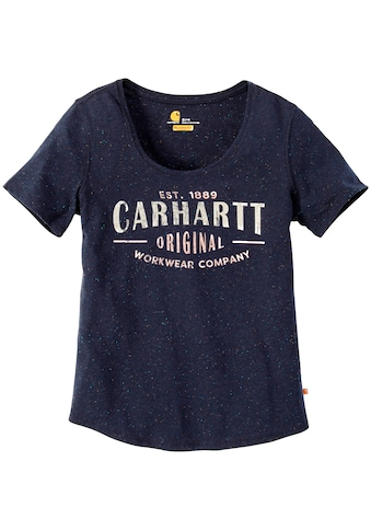 CARHARTT T - Shirt »LOCKHART SCRIPT GRAPHIC T - SHIRT«, INFANTRY BLUE kaufen