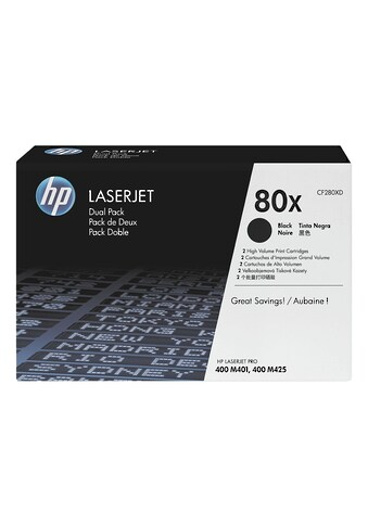 HP Doppelpack Druckkassetten HP 80X »HP CF280XD« kaufen